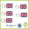 Fashion Colorful flags and keyrings with the high performance custom led keychain