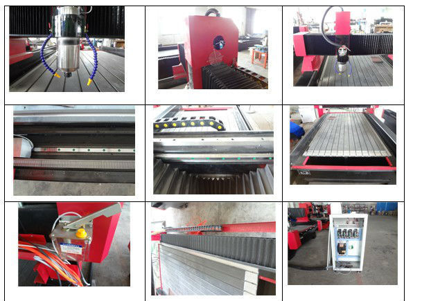 Granite marble quarry stone cnc router with rotarry engraving natural stone, semi precious stone