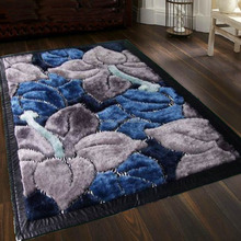 100% polyester silk shaggy carpets rugs for living room