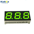 Well know its fine quality 3 digit 0.28inch common cathode green color LED seven segment display