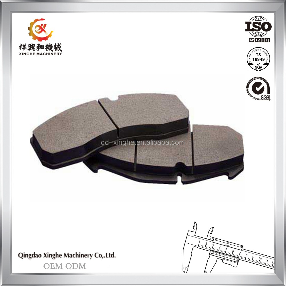 customize cast iron railway brake shoes precision casting railway brakes