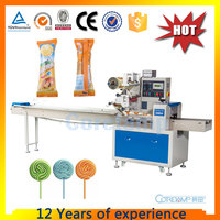 Horizontal Flow Packaging Machine For Lollipop