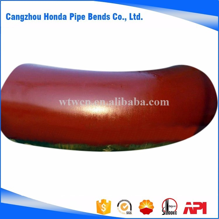Competitive high quality welded hot Induction alloy 90 degree elbow