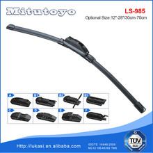 11 Adaptors Multifunctional Flat Soft Color Windshield Wiper Blade for Peugeot 301