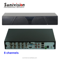 Support 8ch 720P HD preview real-time recording and playback H.264 mobile ahd dvr