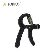 2018 TOPKO Wholesale Adjustable Resistance Wrist Arm Hand Exerciser Non-Slip hand grip exercise equipment
