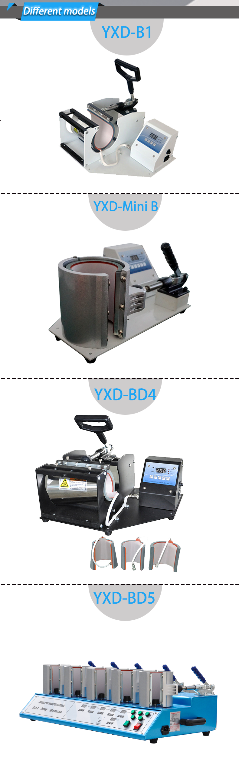 Yuxunda Digital Mug Heat Press Machine