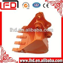 Earth moving machinery parts Hitachi excavator&digger part rock bucket of standard excavator bucket