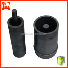 High purity graphite crucibles for melting platinum, carbon crucible melting pot