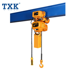 1t Electric Chain Hoist 110V With Trolley