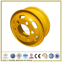 Semi truck wheel rim with weld truck wheels