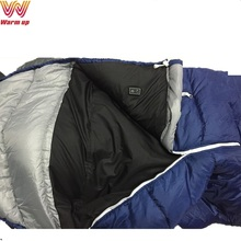 Winter battery electric heating sleeping bag