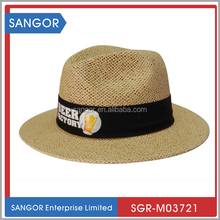 New Arrival Promotional Panama Hats With Printing Logo