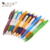 Wholesale China Factory Promotional Retractable Plastic Clip Ball Pen With Logo