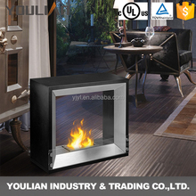 Good quality portable smokeless free standing bio ethanol fireplace FP-Y030S