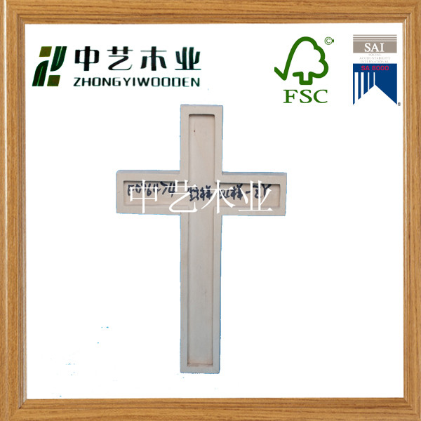 High quality art minds unfinished small wooden crosses religious crucifix wholesale