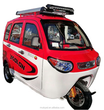 Battery 60V 1000w to 1200w close cabin rickshaw electric tricycle