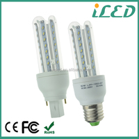 LED light bulb CE ROHS certified warm light smd3014 5W LED corn light E27 G24