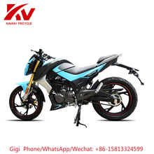 China Guangzhou factory export AK 150cc air-cooled engine China electric motorcycle sale