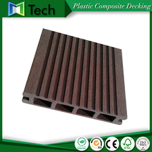 Superior cheapest wood plastic composite outdoor decking impervious flooring