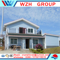 2016 dwell super villas cheap container house for living for camping from china supplier
