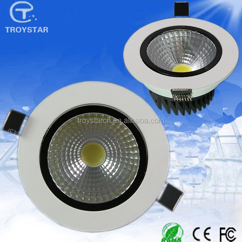Alibaba Express 5W 100lm/<strong>w</strong> CRI80 smd 2835 led AC 85-265V Round Recessed led downlight with ce rohs