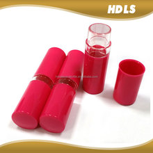 slim mini custom packaging design empty lipstick tube lip balm container
