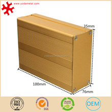 OEM outdoor waterproof extruded electronic aluminum enclosures