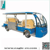 Wheelchair accessible electric vehicle, electric wheelchair car EG6158T