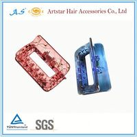 Artstar color baby hair claw clips