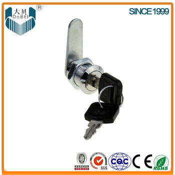 103-20 cam lock with plastic holder with steel or brass key (M18/19*L20mm)