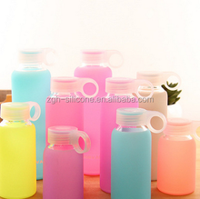 Glass Water Protective Unbreakable Silicone Bottle Sleeve