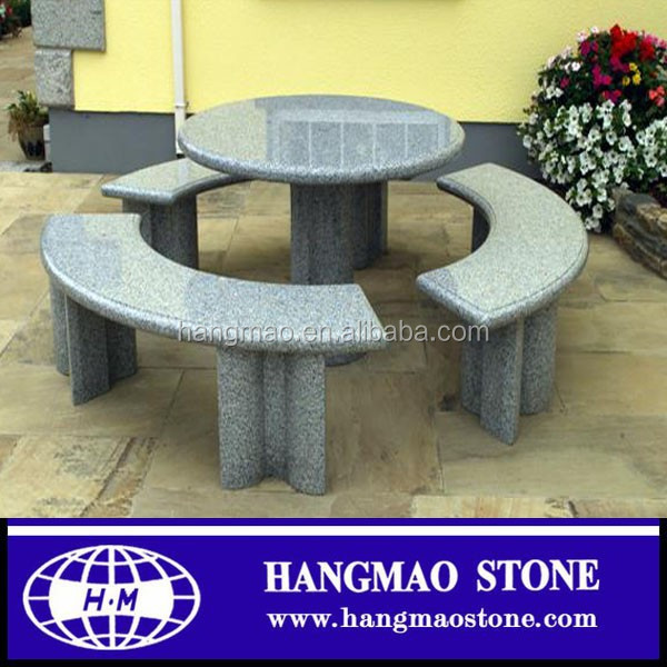 Good Price and Top Quality Outdoor Granite Table