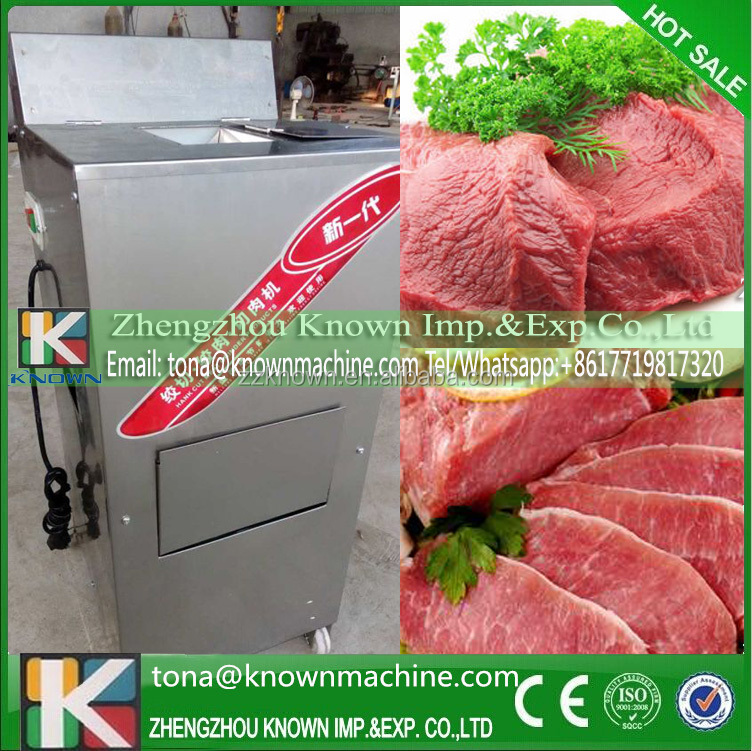 Export EU automatic portable beef meat slicer price for 20mm stripe hot on sale