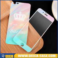 ~~9H~~ hardness cartoon tempered glass screen protector, glitter tempered glass film, custom design tempered glass