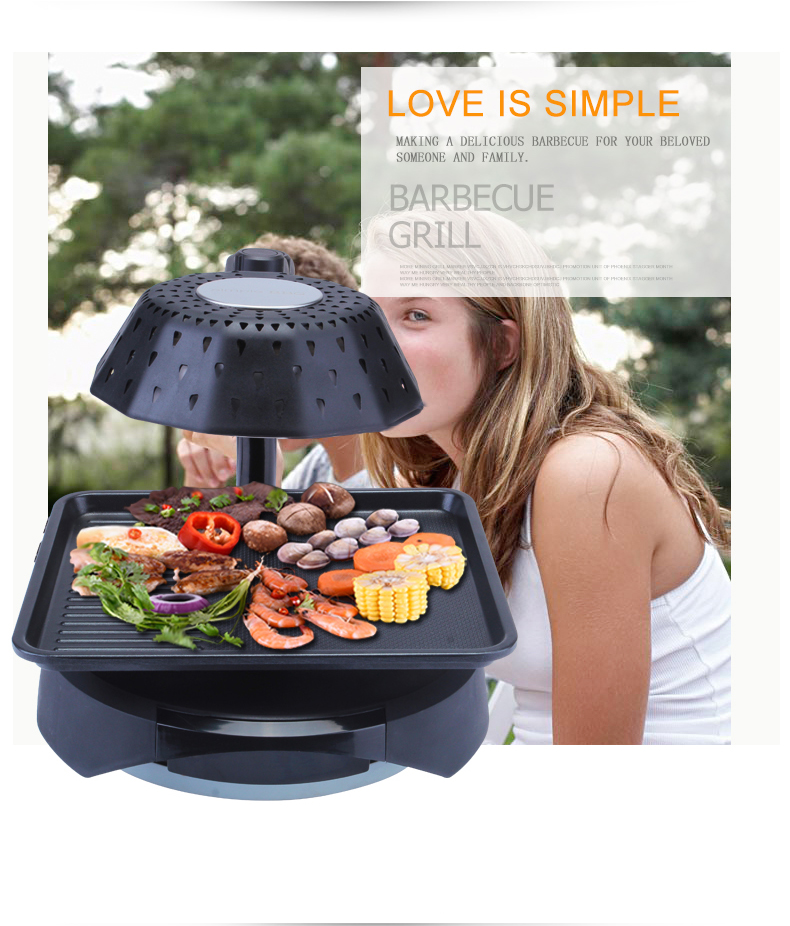2015 Hot Sell 37mm dia plate providing different food cooking BBQ Grill