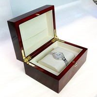 Make Custom Natural Wooden Box High Quality Luxury Watch Box