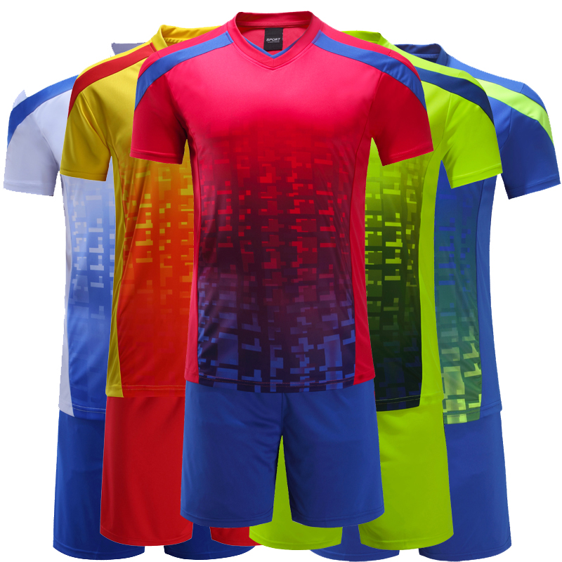 a12e989cd breathable jerseys tracksuits diy number name football shirt maker soccer  jersey