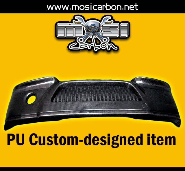 PU FRONT BUMPER LIP FOR CSL CUSTOM-MADE ITEM