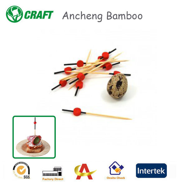 Manufacturers 12cm round bamboo sticks for different shape