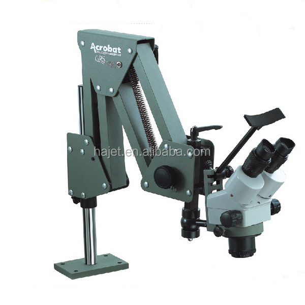 Top Quality Jewelry Loupes Acrobat Dental Microscope with Stand