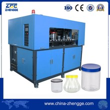 Widely Used PET Plastic Wide Mouth Jar Blow Moulding Machine To Make Bottle