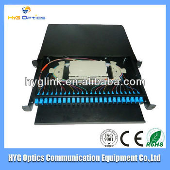 Fiber 24 core optical patch panel box distribution box