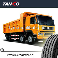 timely delivery Triangle truck tire TR665 315/80R22.5
