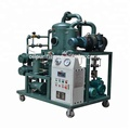 White Color Liquid Handling Specialist, Used Insulation Oils Filter Equipment For Traction Substation