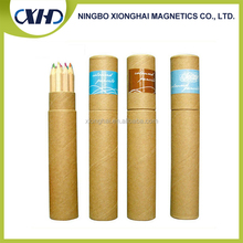 Top products hot selling wooden colored pencils in kraft tube