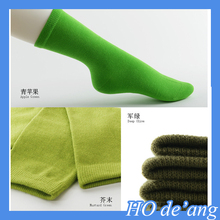 Log custom cotton socks,colorful teen tube socks