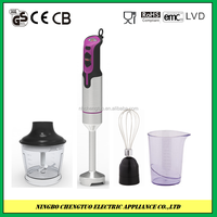 Electric hand held mixer, hand blender mixer, 3 in 1 muti functional blender HB-728