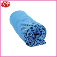 Home textile instant cold long lasting coolness sport cooling towel