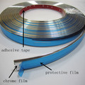 high quality exterior and interior pvc plastic edge trim with protective film